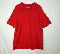 Ralph Lauren Chaps Short Sleeve Polo Golf Shirt Size ADULT LARGE L Mens Clothing