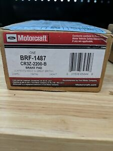 Disc Brake Pad Set-Std Trans, 6 Speed Trans Rear BRF-1487 fits 2012 Ford Mustang
