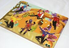 Original The Wiggles Greg Page Wooden Jigsaw Peg Puzzle Henrys Place 2004 Yellow