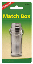 Coghlan's 546 Waterproof Match Holder Nickel-plated Brass
