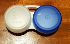 Bausch & Lomb Blue & White Contact Lens Case Unused