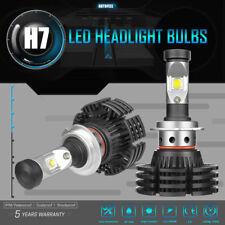 Autofeel 1200W 180000LM H7 CREE LED Headlight Kit Bulbs 6000K White Low Beam 2x