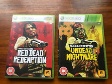 Xbox 360 Red Dead Redemption & Undead Nightmare Free Shipping