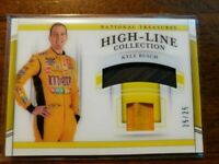 2020 National Treasures Kyle Busch High-Line Collection #25/25! Dual Relics!