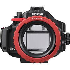 Olympus pt-ep08 bajo el agua carcasa para OM-D e-m5 B-Ware como nuevo