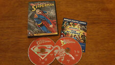 THE BEST OF SUPERMAN 2 DISC DVD SET GOOD CONDITION