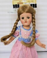 "WIG-DOLL-SIZE 8"" Style #287  Dark Blond wig w/2 braids"