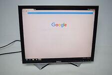 """Dell 2007FPB 20"""" LCD Monitor DVI VGA w/ Cords Grade A #266"""