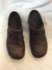 Merrell Womans Mules Clog Slip On Shoes  EUC Size 8 Color Brown