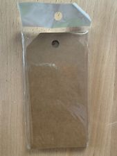 """Paper Luggage Gift Tag Crafting Supplies Kraft Paper 4""""x2"""" 100ct"""