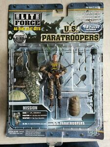 Elite Force U.S. Paratroopers 1:18 Scale Cpl. DiMarco 82nd Ab. Bazooka 29