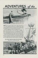 1938 Magazine Article Filming Hurricanes Sea Storms Weather For Hollywood Movies