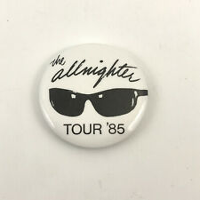 Glenn Frey The Allnighter Tour '85 button Official 1985 vintage pinback bad