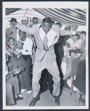 "1951 Sugar Ray Robinson, ""Dance Moves of a Boxing Champion"" Vintage Photo"