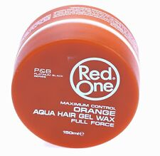 3 X Red One Maximum Control Orange Aqua Hair Wax Full Force