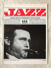 RIVISTA MUSICA JAZZ N.3 (315) 1974 STAN GETZ VITA MUSICA ARCHIE SHEPP SOS