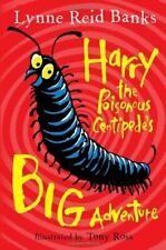 Harry the Poisonous Centipede's Big Adventure, Banks, Ross 9780007476794 New+-