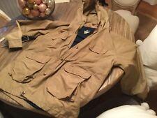 VTG Men's WOOLRICH Full-Zip Hooded Nylon Mountain Parka Jacket Sz XL