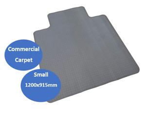 RAPIDLINE CHAIR MAT Dimpled Small 1200mmL x 915mmW x 2mmD Grey