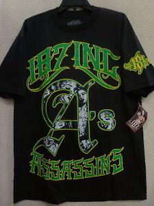 "187 Inc Men's T-Shirt ""Assassins"" -- Black"