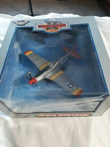 1:48 WW2 Series Diecast P-51 Mustang New In Box Great Detail.