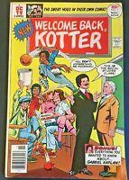 WELCOME BACK KOTTER. NO. 1. DC COMICS. 1977. BRONZE AGE. JACK SPARLING-ART