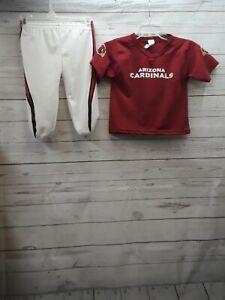 Arizona Cardinals Uniform Set Football Jersey pants Kids Costume Small