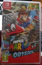Super Mario Odyssey (Nintendo Switch, 2017) USED