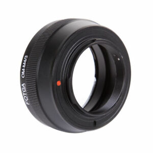 FOTGA Adapter For Olympus OM Lens to M4/3 Camera Panasonic GF7 Olympus E-M10III