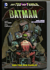 Batman Death In The Family HC DC Panini Joker 555 Limited German Variant