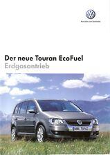 Prospekt / Brochure VW Touran EcoFuel 11/2006