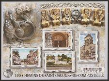 2015 Bloc n° F4949 St Jacques de Compostelle  NEUF**LUXE