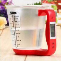 Measuring Cup Digital Beaker Libra Lcd Tempera Kitchen Quality Scales T1Y5
