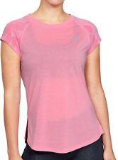 Under Armour Streaker 2.0 Shift Short Sleeve Womens Running Top - Pink