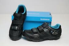 New Shimano Women's SH-WM64L MTB Mountain Bike Shoes 38 6.5 Black SPD Cycling