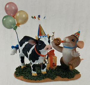 Charming Tails ~ PARTY TO THE COWS COME HOME ~ New In Box