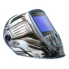 "TGR Extra Large View Auto Darkening Welding Helmet - FANG - 4""W x 3.65""H View"