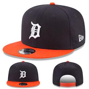 New Era Detroit Tigers Snapback Hat MLB Youth Kids 2 tone Color Team Basic Cap