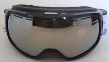 Quiksilver Fenom Snow Goggles - Black BTNO / Orange Chrom Silver- New