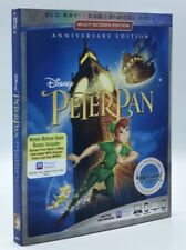 Peter Pan (Blu-ray+DVD+Digital, 2018; Signature Collection) NEW w/ Slipcover