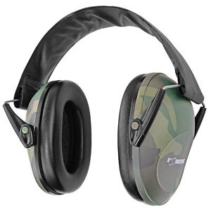 Boomstick Camo Ear Muff Safety Hearing Noise Protection Gun Shooting Range Work