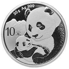 30g China Panda 10 Yuan Silber BU 2019 - PRE Sale