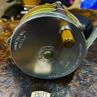 Hardy 3 1/4 Inch Bougle Fly Reel with Case & Floating Fly Line