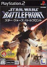 Used PS2 Star Wars: Battlefront EA  SONY PLAYSTATION JAPAN IMPORT