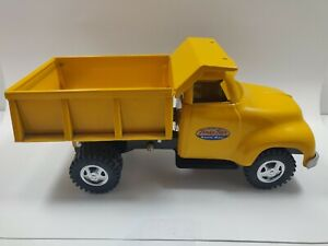 Vintage 1950s Tonka Toys Yellow Mound Metalcraft Inc Dump Truck Toy