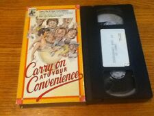 SEX COMEDY VHS CARRY ON AT YOUR CONVENIENCE 1971 AXON VIDEO UK SLAPSTICK CULT