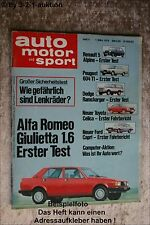 AMS Auto Motor Sport 5/78 Toyota Celica Ford Capri R5 Alpine Yamaha XS