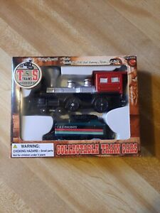 T and S Trains Collectable C & C Railways Engine and Tender Car NEW