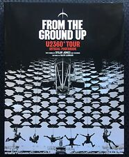 From The Ground Up - U2 360 Degrees Tour Official Photo Book Hardcover