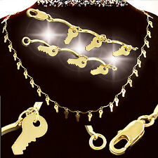 23 inch Gold Key Necklace - 38 keys - Award for Realtors/Homeowners/Key Clubs
